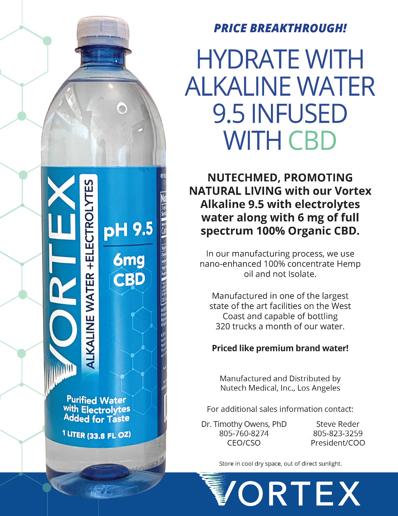 vortexcbdwater – Hydrate With Alkaline Water 9 5 Infused With CBD